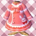 うさぎさんのコート