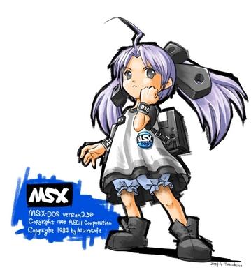 msx-dosたん(msx girl)